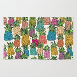 West Coast pineapples Rug