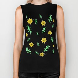 Succulents and Sun Biker Tank