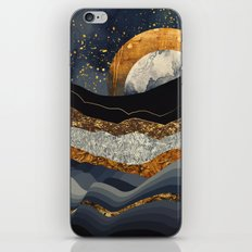 Metallic Mountains iPhone Skin