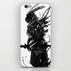 Black and White Tech Zero iPhone & iPod Skin