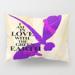 Dragonflies Green Earth Love Pillow Sham