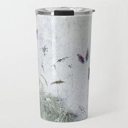 A Spell for Creation - butterflies amongst grass Travel Mug