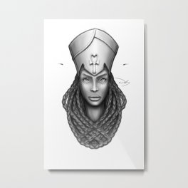 Encapsulated Metal Print