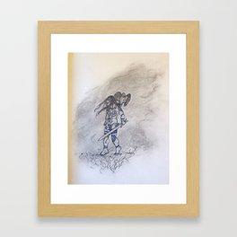 The Kite's Daughter Framed Art Print