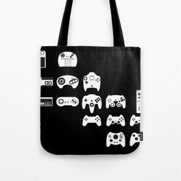 History of gaming Tote Bag
