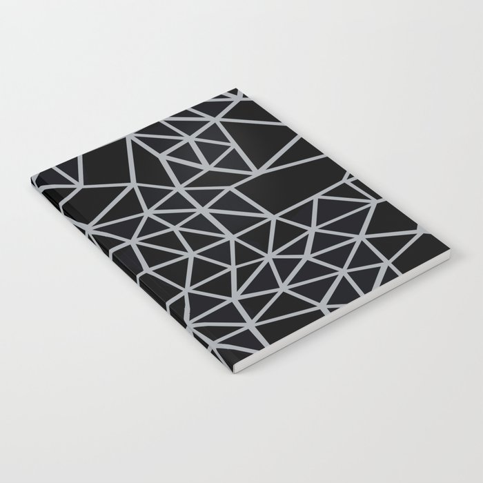 Segment Grey and Black Notebook