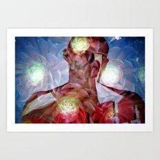 experi -mental 01 Art Print