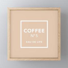 Iced Coffee No5 Framed Mini Art Print