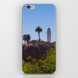 Point Vicente Lighthouse iPhone Skin