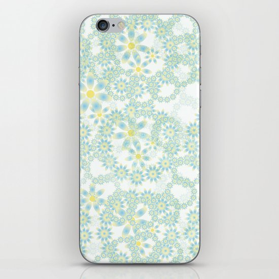 Little flowers iPhone & iPod Skin
