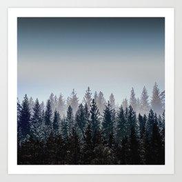Woods 2 Art Print