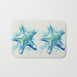 Starfish Waters II natural Bath Mat