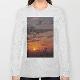 Last days of Summer. Sunset near autumn.... Long Sleeve T-shirt