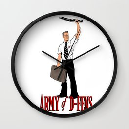 Army of D-FENS Wall Clock