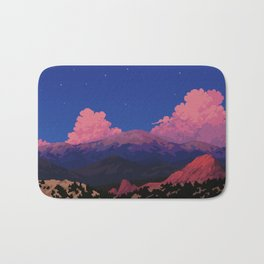 Sunset at Garden of the Gods Bath Mat