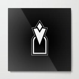 Skyrim Entrance Metal Print