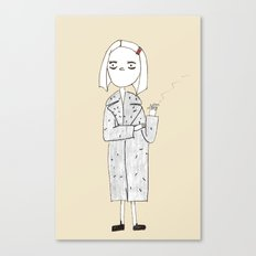 the royal tenenbaums - margot Canvas Print