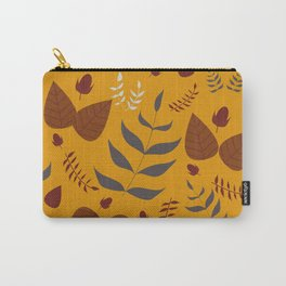 Autumn leafs and acorns Carry-All Pouch