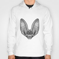 bat Hoodies featuring BAT by Charlotte quillet