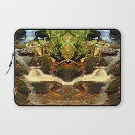 Mighty waterfall | landscape photography Laptop Sleeve