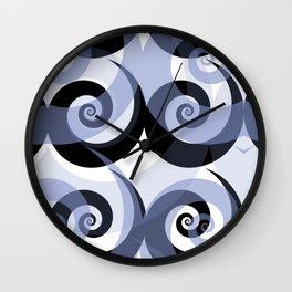 NAKED GEOMETRY no 6 Wall Clock