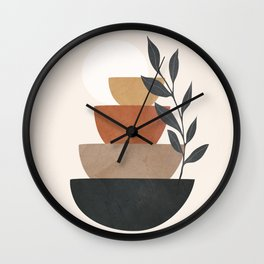 Branch and Balancing Elements Wall Clock