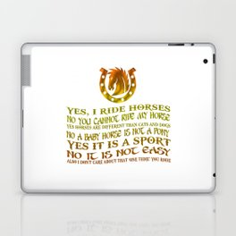 The Best Horse Ever! Laptop & iPad Skin