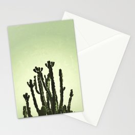 Wild Cactus Green Stationery Cards
