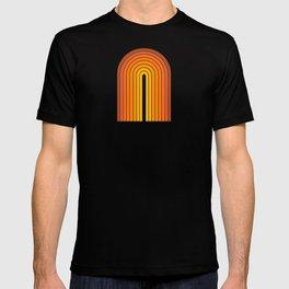 Gradient Arch - Vintage Orange T-shirt