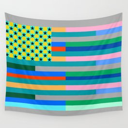 Springtime States of America Wall Tapestry