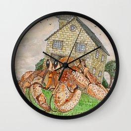 Hermit Apocalypse Wall Clock