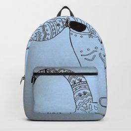 Cool Ornamental Goat Backpack