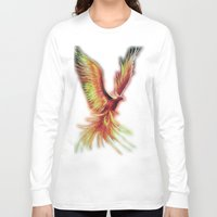 phoenix Long Sleeve T-shirts featuring phoenix by OLHADARCHUK
