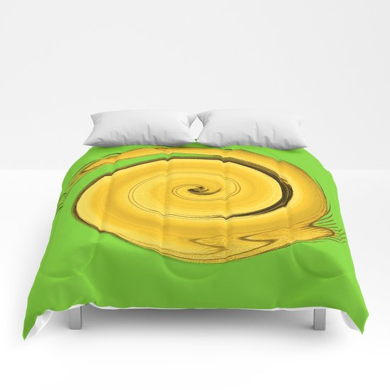 Tiger twirl  Comforters