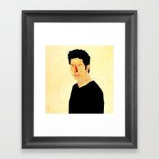 Ross Geller  Framed Art Print