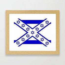 Jonfederate Flag Framed Art Print