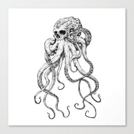 Octoskull Canvas Print