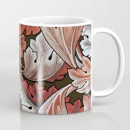 Art Nouveau William Morris Autumn Acanthus Leaves Coffee Mug