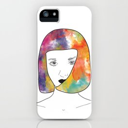 face I iPhone Case