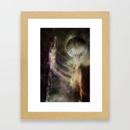 VISION QUEST LOG 1 Framed Art Print