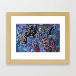 MT Olympus Framed Art Print