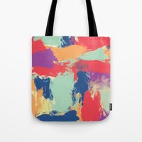 funky Tote Bags featuring Funky by Georgia Dritsakou