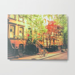 New York City Summer Metal Print