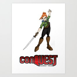 Absolut 'Loot' from 'conQUEST' Art Print
