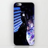 vertigo iPhone & iPod Skins featuring Vertigo by Danielle Tanimura