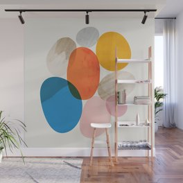 Abstraction_Pebbles_002 Wall Mural