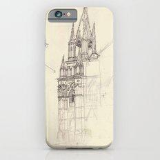 Santa Ana El Salvador Ink Drawing Slim Case iPhone 6s