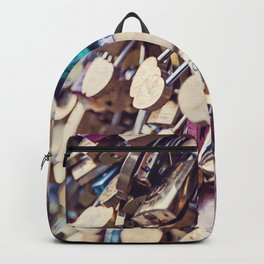 Paris Love Locks Backpack