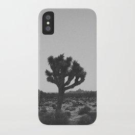 JOSHUA TREE VI (B+W) iPhone Case