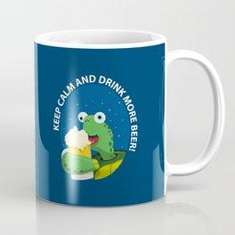 Keep Calm and Drink More Beer! Coffee Mug